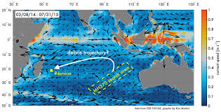 Diego Garcia Map How Currents Pushed Debris From The Missing Malaysian Air Flight