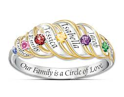 mothers day ring with birthstones the mothers day gift bradford exchange birthstone rings