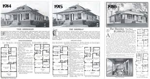 Sears Homes Floor Plans by Old Fashioned Bungalow House Plans