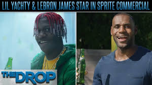 buzzin lil yachty lil yachty sings to lebron james in sprite ad the drop presented