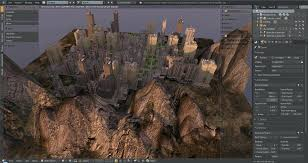 tutorial blender terrain landscape blender texturing the terrain landscape blender download