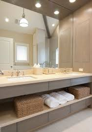 Modern Vanity Bathroom Idea Open Concept On This Master Bathroom Vanity A Great Way To