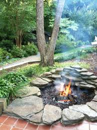 How To Build A Stone Firepit by Kids U0027 Creative Stepping Stone Firepit Ideas Outdoor Fire And