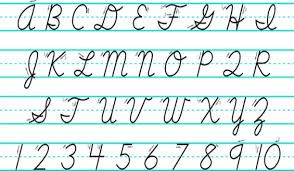 how to write i in cursive research handwriting helps child brain development education news