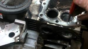 lawn mower repair how to repair valve seats that have come out
