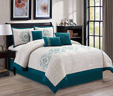 Gray And Turquoise Bedding Turquoise Bedding Ebay