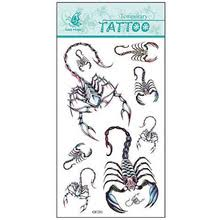 buy scorpion tattoo designs and get free shipping on aliexpress com