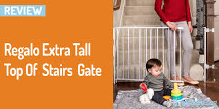 Amazon Stair Gate Regalo Extra Tall Top Of Stairs Gate Best Baby Gate