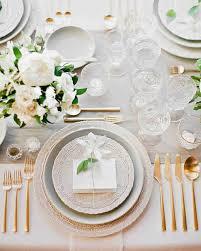 wedding tables wedding table settings gold wedding table