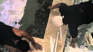 Installing Travertine Tile How To Install Travertine Tile Youtube
