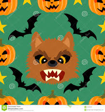 halloween background images free seamless halloween background with werewolf royalty free stock