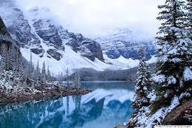 a canadian winter provides plenty of breathtaking sights
