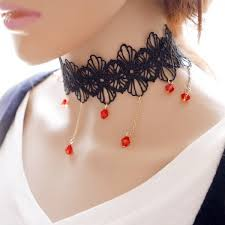 Wedding Gift Necklace High Quality Lace Choker Necklace Wedding Gift