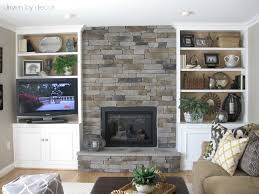 painting built in bookcases transforming a fireplace and built in bookcases driven by decor