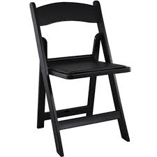 black resin folding wedding chair padded folding chairs for sale