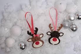 handmade decorations deer and balls