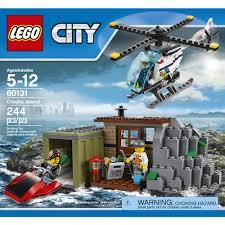 lego kitchen island lego city crooks island 60131 walmart