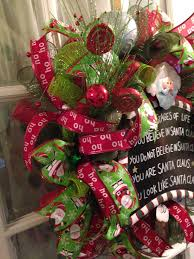 christmas mesh ribbon santa claus wreath deco mesh ribbon christmas lime green mesh