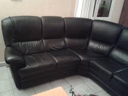 canape d angle en cuir noir achetez canapé d angle cuir occasion annonce vente à junien