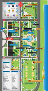 Riot Fest Map Chicago by Lollapalooza 2013 Map