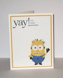 30 best minion cards images on pinterest minion card kids cards