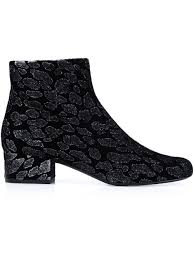 ugg womens eliott boots laurent jacquard leopard print boots shoes yves