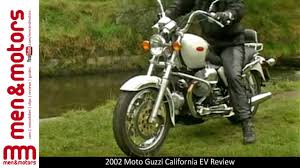 california review 2002 moto guzzi california ev review