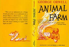 george orwell write animal farm