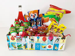 candy gift basket diy mexican candy gift box by claudya