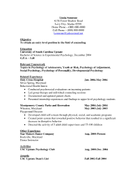 psychology resume templates best cover letter