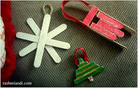 diy popsicle stick christmas ornaments rashmi u0026 i