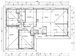 plan de cuisine gratuit plan de maison en l gratuit 9 construction modeles maisons