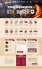 website homepage design bubba foods retail food web design and brand development
