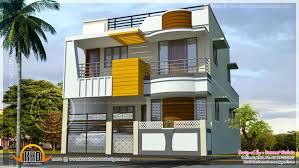 double storied modern south indian home kerala home design and
