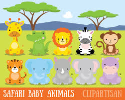 safari guide clipart safari baby animals clipart jungle animals clipart zoo