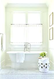 bathroom window ideas small bathroom window curtains bathroom curtain ideas white