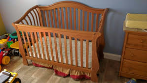 Solid Wood Convertible Crib Pali Rosalia Solid Wood Convertible Crib Baby In Coral
