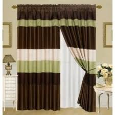Green And Brown Curtains 21 Best Green Brown Living Room Images On Pinterest Living