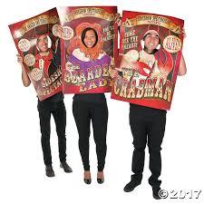spirit halloween modesto ca big top terror posters with face cutouts