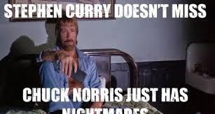 Chuck Meme - nba meme mania even chuck norris wishes he was steph curry