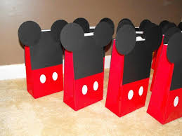 mickey mouse favor bags 44 best mickey mouse party ideas for a boy images on