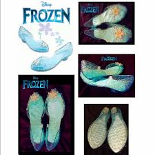 shoes with lights on the bottom disney authentic other disney deluxe frozen elsa glittering light