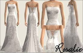 2 wedding dress mod the sims wedding dresses