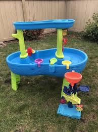 step 2 rain showers water table step2 rain showers splash pond water table baby kids in olympia wa