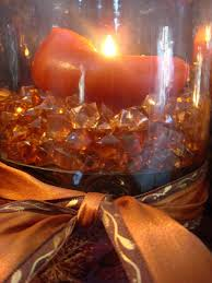 fall ideas for thanksgiving decorating fall leaves and candles
