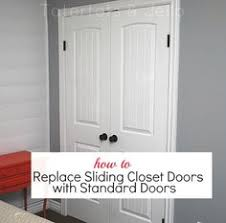 Replace Sliding Closet Doors Replacing Sliding Closet Doors Closet Ideas