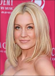 kellie pickler hairstyle photos pickler shoulder length bob hairstyle at acms 2009