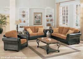 wall with frame and black brown traditional sofa set design with