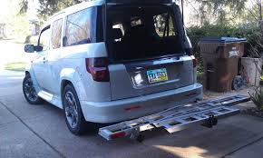 2007 Honda Element Roof Rack by Car Hauling Bike Moto Related Motocross Forums Message
