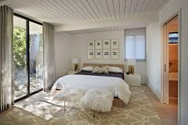 Minimalist Floor Plan Bedroom Midcentury Bedroom Plan Featured Near Open Floor Plan